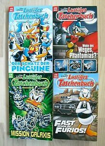 Walt Disney Lustige Taschenbücher Sammlung LTB 541, 542, 543 + 544