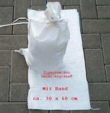 50 Sandsäcke SANDSACK Säcke HOCHWASSER Hochwassersack