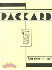 SHOP MANUAL PACKARD SERVICE REPAIR BOOK RESTORATION WORKSHOP 12 8 6 1936-1944