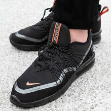 Nike Air Max Sequent 4 Utility Black Orange Uk Size 7.5 Eur 42 AV3236-007