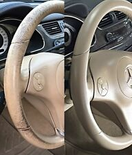 Set Regenera Color Volante De Piel Mercedes Interior beige cachemir desgaste CLS