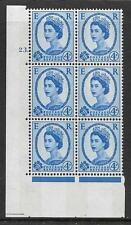 4d Wilding Violet Phosphor 9.5mm cyl 23 Dot perf type A(E/I) UNMOUNTED MINT