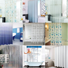 16 Patterns Anti-mildew Shower Curtain Water Resistant 1.8m × 1.8m 1.8m × 2m