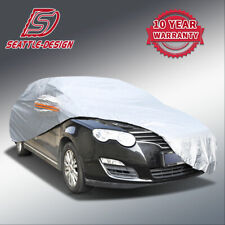 3L Soft Aluminum Car Cover Waterproof Breathable Rain Dust Outdoor Protection