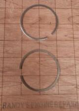 NOS McCulloch 55124 Piston Rings Mac 5 Kart S44A S55A 1-70 1-53 250 + chainsaw