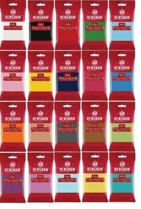 Rollfondant Renshaw elastisch 250g bis 5 kg Fondant alle Farben Profi