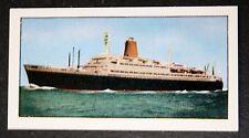 SS BREMEN  Norddeutscher Lloyd Line  Illustrated Colour Card # VGC