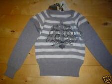 ligero Jersey de punto, gris de rayas V. García 140 -176