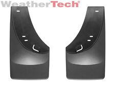 WeatherTech No-Drill MudFlaps for Silverado / Sierra w/ FF 2001-2006 - Rear Pair