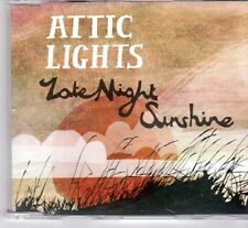 (DX964) Attic Lights, Late Night Sunshine - 2008 DJ CD