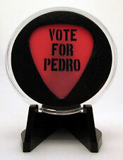 """Vote For Pedro"" Guitar Pick With MADE IN USA Display Case & Easel"