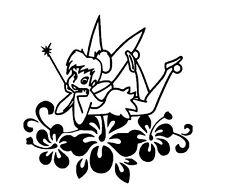 tinkerbell vinyl car sticker, decal, window oracal 651 a1