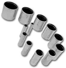Tubo 10cm manicotto siliconico giunzione alluminio dritto 80mm Silicon Hoses