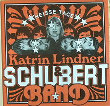 Katrin Lindner & Schubert Band - Heisse Tage - LP - AMIGA -  cleaned - L3798