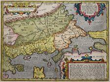 Thrakien - Thraciae veteris typus - Ortelius 1592 - Original - Rare - Thrace