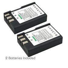 2x Kastar Battery for Nikon EN-EL9 EN-EL9a D40 D40x D60 D3000 D5000