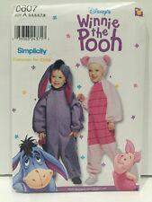 Simplicity Disney Winnie the Pooh Eeyore Piglet Costume Pattern 0607 Uncut 3 - 8