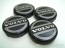 4 x Volvo Alloy Wheel Hub Cap Centre Emblem Badge 64mm 3546923 Black Colour b