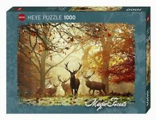 MAGIC FORESTS : STAGS * HIRSCHE - Heye Puzzle 29805 - 1000 Pcs.