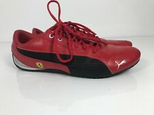 Puma Ferrari shoes men red Size 11.5 US