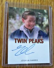 Twin Peaks Joshua Harris as Nicky Needleman in Season 2 Autographed Trading Card