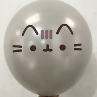 silver cat latex balloons kids birthday party wedding decorations balls toy uf
