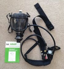 ISI Airline Respirator Apparatus ARAP Mask W/Straps & Belts Breathing Gear