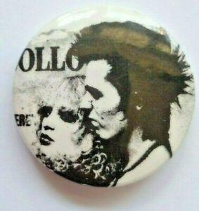Vintage Sid & Nancy SEX PISTOLS 1970s punk rock Badge