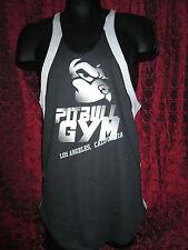 Pitbull Clothing Y-Back Stringer tank top contrast Black / Grey (L)