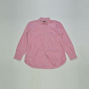 Etro Milano Pink Striped Cotton Dress Shirt Made in Italy Size 43