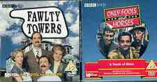 ONLY FOOLS & HORSES: TOUCH OF CLASS/FAWLTY TOWERS: HOTEL INSPECTORS:  PROMO DVDS