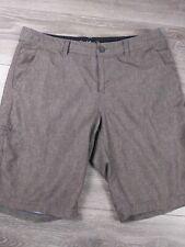Da Hui Men's Size 32 Swim Casual Board Shorts Stretch Gray