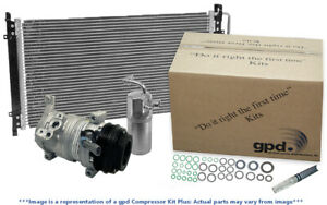 A/C Compressor-Compressor Kit with Cond New fits 01-04 Ford Escape 3.0L-V6