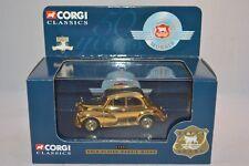 Corgi 02002 Morris minor Gold Plated 1:43 mint in box
