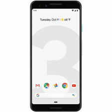 Unlocked GOOGLE PIXEL 3 Clearly White 'Lightly Used ' 64GB G013A With Warranty