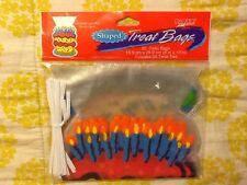NIP Paper Art Birthday Cake Shaped Treat Bags/Sacks 20 ct. with ties