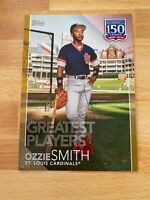 2019 Topps 150 Years Of Baseball Ozzie Smith SP/10 5x7 Greatest Players #GP-14