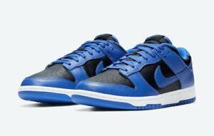 Nike Dunk Low Men's Hyper Cobalt Black 2021, DD1391-001, Size 7 8.5 11 In Hand