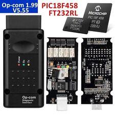 OPEL OP COM V1.99! Vauxhall OBD2 Diagnostic Code Reader Scanner Tool OPCOM
