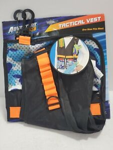 Adventure Force Tactical Vest BLUE CAMO One Size Fits Most Kids Gift Toys