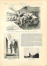 Prince Henri d'Orléans Exploration Ethiopie Abyssinie Quai Djibouti GRAVURE 1901