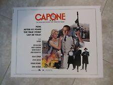Capone movie poster - original - Ben Gazzara, Al Capone