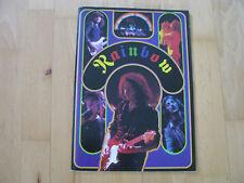 Rainbow Japan 1978 Tourbook Ritchie Blackmore Cozy Powell Ronnie James Dio
