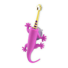 NEW Silicone Larry The Lizard Toothbrush Holder Bathroom Purple