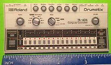 Roland TB-303 TR-606 SYNTHESIZER refrigerator magnet
