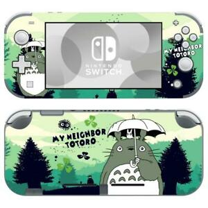 Nintendo Switch Lite Console Vinyl Skin Stickers Decals My Neighbor Totoro Cute