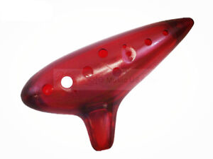 Red Stagg OCA-PL RD Plastic Ocarina