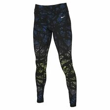 NIKE EPIC LUX  TRAINING leggings  size X  LARGE BLACK MULTI PRINT