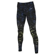 NIKE EPIC LUX  TRAINING leggings  size X  LARGE BLACK MULTI PRINT
