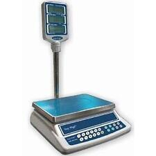 Easy Weigh Ck-30-Pole Price Computing Scale with Column 30 lb x 0.005 lb